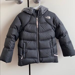 Girls North Face Down Coat Size 4T
